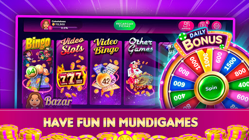 MundiGames - Slots, Bingo, Poker, Blackjack & more  screenshots 1