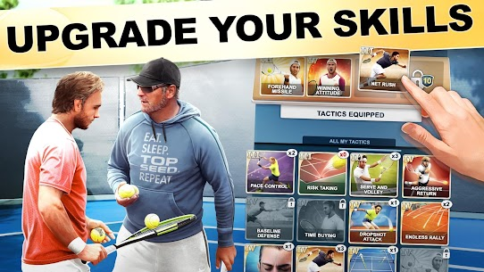 TOP SEED Tennis: Sports Management Simulation Game Mod 2.49.1 Apk [Unlimited Money] 2