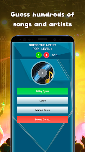 Guess the song - music quiz game Guess the song 0.5 screenshots 3