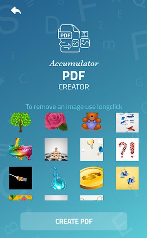 Accumulator PDF creator  poster 5