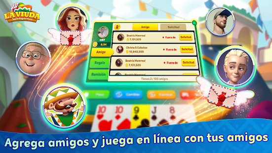 La Viuda ZingPlay: El mejor Juego de cartas Online 1.1.32 APK screenshots 4