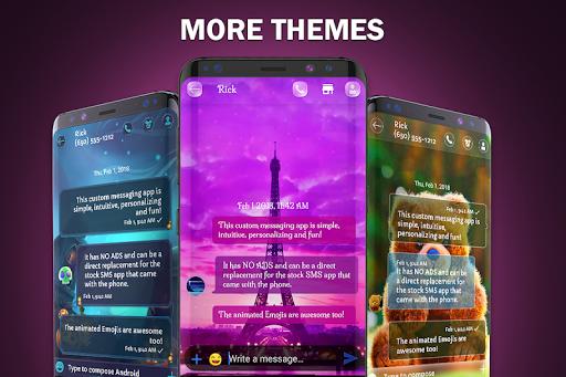 Wallpaper SMS theme 3.3.4 screenshots 3