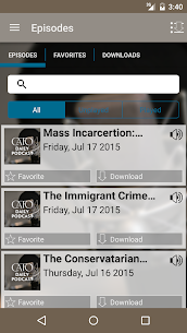 Cato Daily Podcast  For Pc – Free Download For Windows And Mac 2
