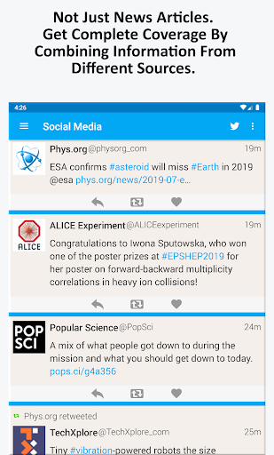 Science News, Videos, & Social Media 3.0 Screenshots 8