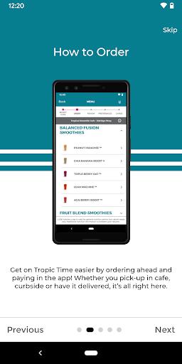 Tropical Smoothie Cafe 2.3 screenshots 1