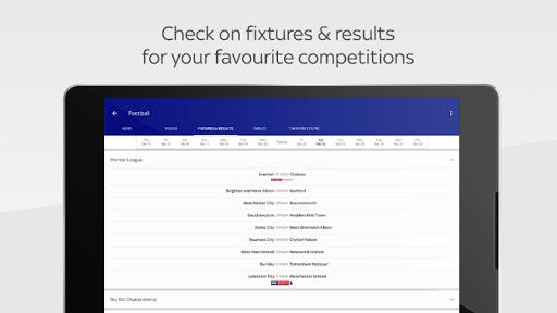 Sky Sports International 1.0.0 Screenshots 12