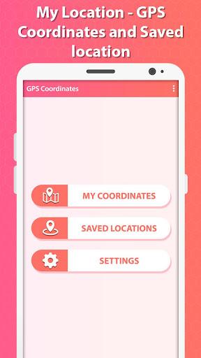 my location - gps coordinates screenshot 2