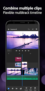 Adobe Premiere Rush — Video Editor Mod 1.5.56.1264 Apk [Unlocked] 3