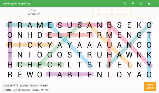Word Search - Free Word Game 8.4 screenshots 7