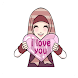 Sticker Cute Hijab Versi Inggris for WAStickerApps - Androidアプリ