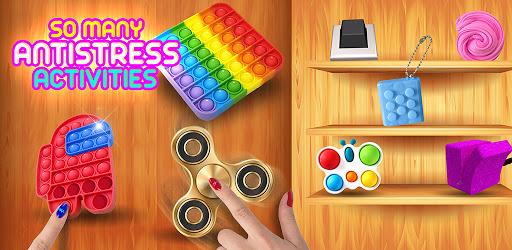 Fidget Toys 3D - AntiStress Satisfying Fidget Cube APK 0