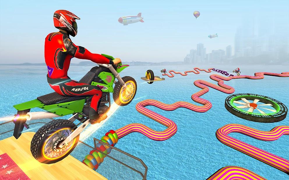 Impossible Tracks Bike Race Motorcycle Stunts screenshot 5
