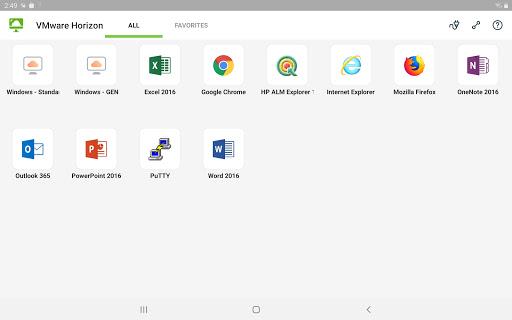 VMware Horizon Client 8.0.5 screenshots 11