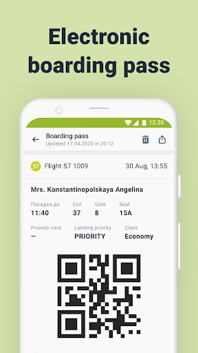 S7 Airlines: book flights android2mod screenshots 7
