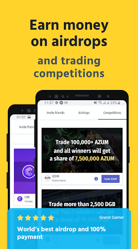 LATOKEN: Bitcoin Wallet, Crypto Exchange android2mod screenshots 1