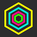 Hex AMOLED Neon Live Wallpaper