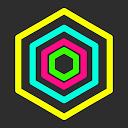 Hex AMOLED Neon Live Wallpaper 2021