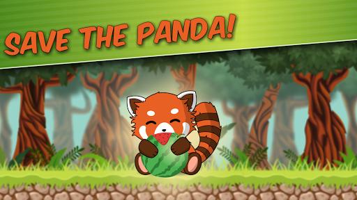 Red Panda: Casual Slingshot & Animal Logic Game  screenshots 5