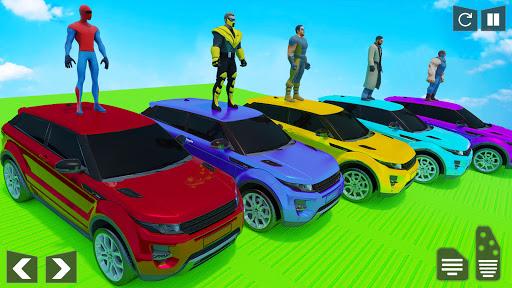 Mega Ramp Car Stunt Racing Games - Free Car Games screenshots 12