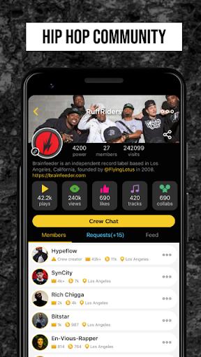 Rap Fame - Rap Music Studio with beats & vocal FX screenshots 6