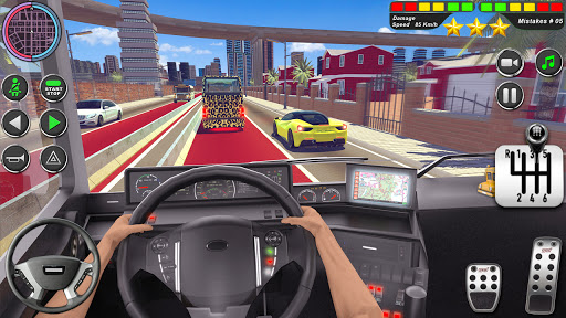 Bus Driving Simulator Games : Coach Parking School 1.7 screenshots 16