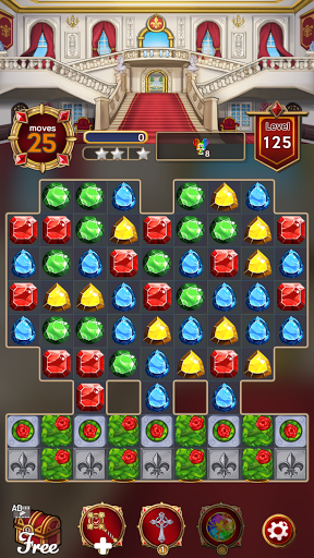Grand Jewel Castle: Graceful Match 3 Puzzle 1.2.5 screenshots 4