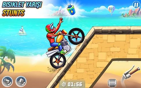 bisiklet yarışı ücretsiz oyunlar  motor oyunları Apk Son Sürüm 2021 3