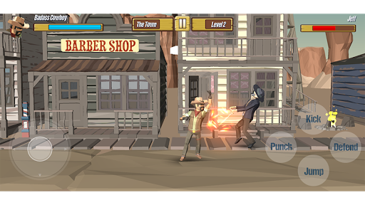 Polygon Street Fighting: Cowboys Vs. Gangs screenshots 1