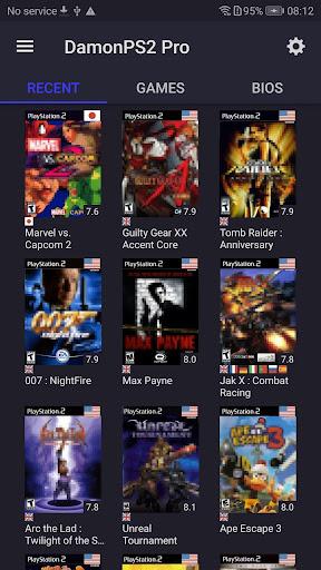 PS2 Emulator - DamonPS2 - PPSSPP PS2 PSP PS2 Emu 3.3.2.1 screenshots 1