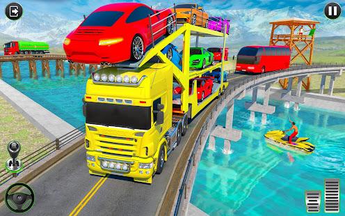 Crazy Car Transport Truck:New Offroad Driving Game 1.32 Screenshots 2