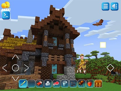RealmCraft Block Craft Spiele with Minecraft Skins Screenshot