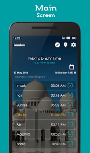 Prayer Times, Adhan, Qibla Screenshot