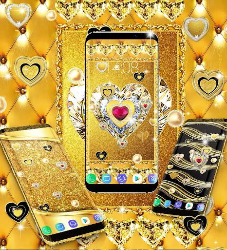 Gold live wallpaper 2021 apktram screenshots 12