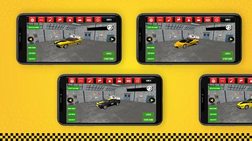 taxi simulator car driving game screenshot 3