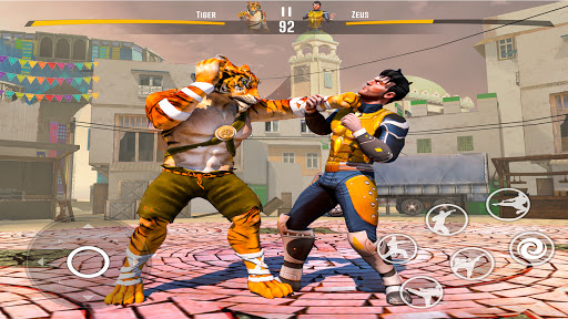Kung fu fight karate Games: PvP GYM fighting Games apktram screenshots 5