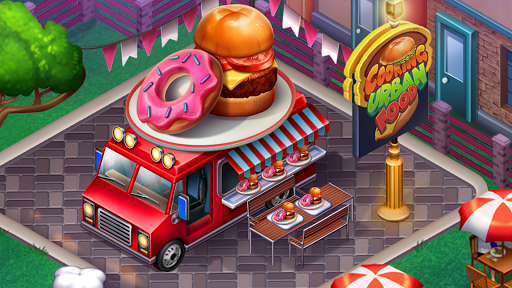 Cooking Urban Food - Fast Restaurant Games 8.7 screenshots 6
