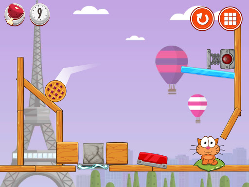 Hungry cat: physics puzzle game apkdebit screenshots 8