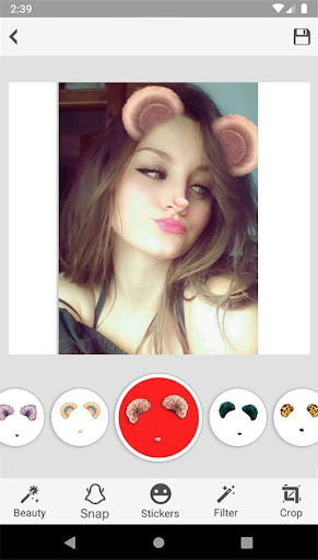 Sweet Snap Face Camera - Live Filter Selfie Edit 1.5 Screenshots 3