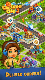 Cartoon City 2:Farm to Town.Build your home,house Unlimited Money