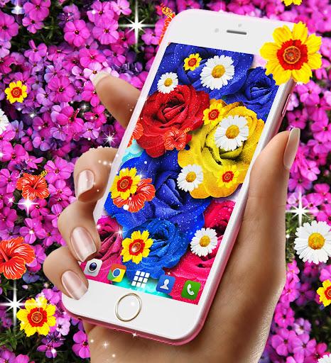 Flowers live wallpaper android2mod screenshots 5