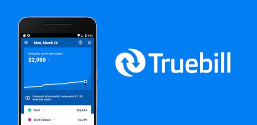 Truebill Budget Planner, Bill Tracker and Reminder