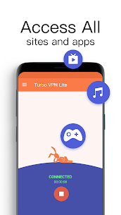 Turbo VPN Lite – Free VPN Proxy Server & Fast VPN 5
