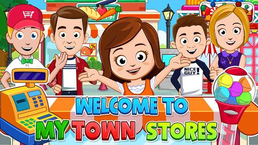 My Town: Stores - Doll house & Dress up Girls Game apktram screenshots 1