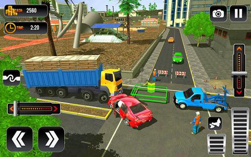 City Tow Truck Car Driving Transporter 3D 1.0.5 screenshots 4