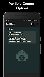 DroidCamX – HD Webcam for PC Apk 3