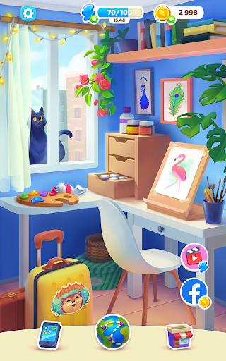 Color Stories - color journey, paint art gallery screenshots 13