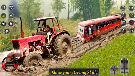 Real Tractor Pulling Simulator  Offroad | City Mod Apk Download 2