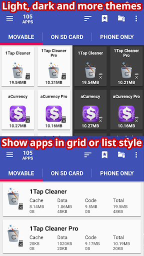 AppMgr Pro III (App 2 SD, Hide and Freeze apps) android2mod screenshots 5