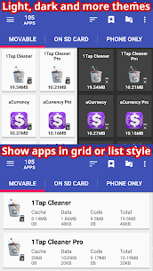 AppMgr Pro III (App 2 SD, Hide and Freeze apps) v5.11 [Patched] 5