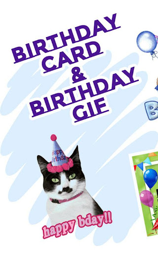 Happy Birthday Greeting Cards And GIF  screenshots 1